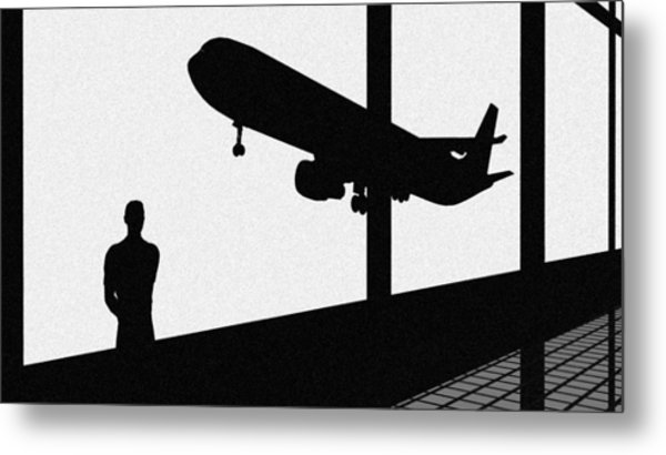 Wonder Of Flight Metal Print