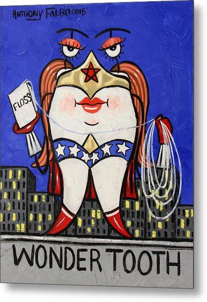 Wonder Tooth Metal Print