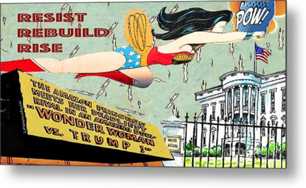 Wonder Women  Metal Print