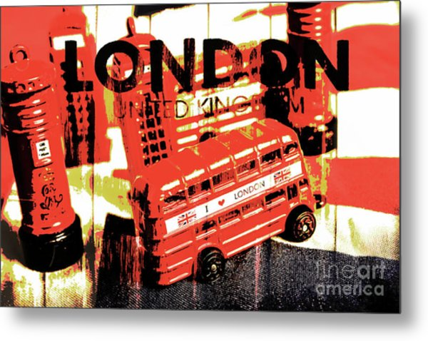 Wonders Of London Metal Print