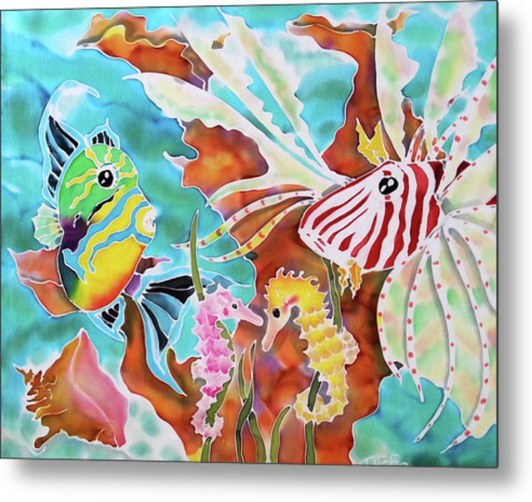 Wonders Of The Sea Metal Print
