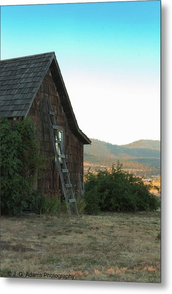 Metal Print featuring the photograph Wood House by Jim Adams