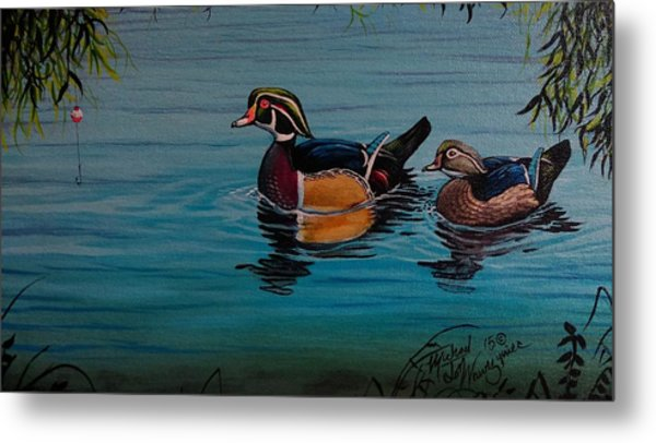 Woodies Metal Print
