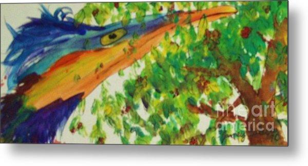 Woodpecker Metal Print by Jamey Balester