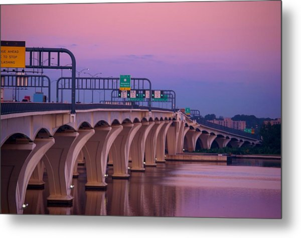 Woodrow Wilson Bridge Metal Print