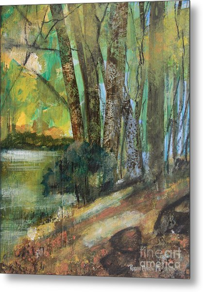 Woods In The Afternoon Metal Print
