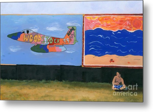 Woodstock 99 Revisited Metal Print
