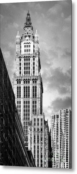 Metal Print featuring the photograph Woolworth Building by Juergen Held