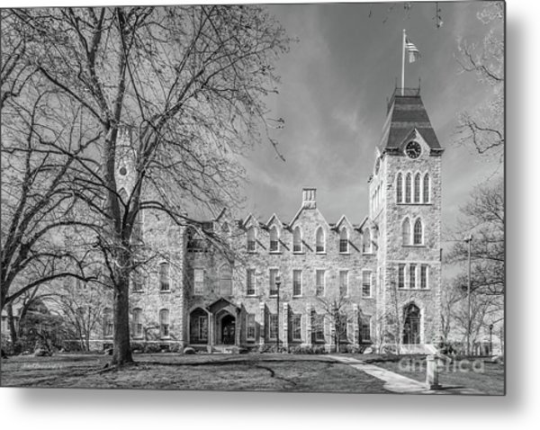 Worcester Polytechnic Institute Boyton Hall Metal Print by University Icons