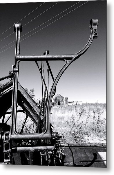 Worked To Death Metal Print