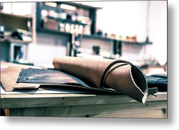 Workroom Metal Print