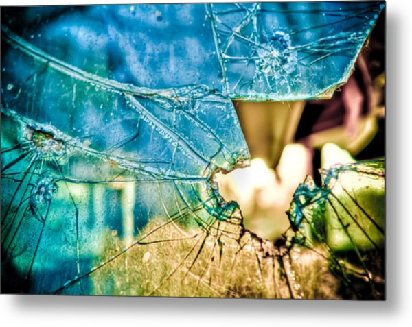 World In My Eyes Metal Print