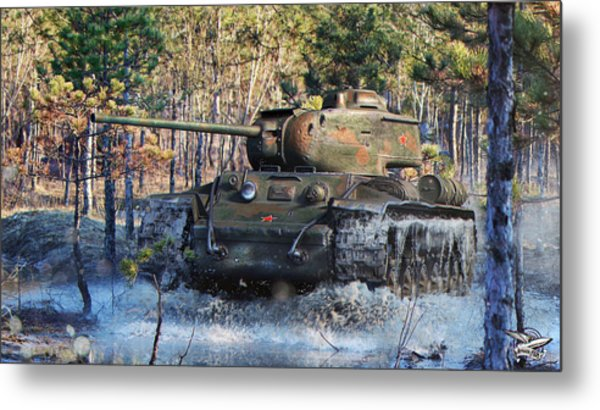 World Of Tanks Metal Print