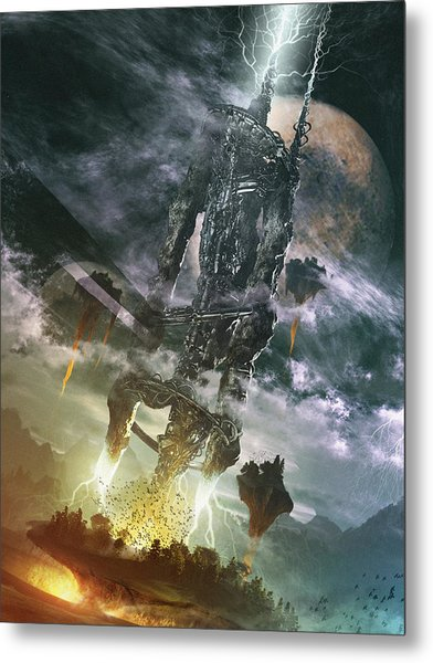 World Thief Metal Print