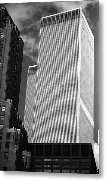 World Trade Center Metal Print by Eric Foltz