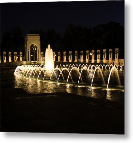 World War Memorial Metal Print