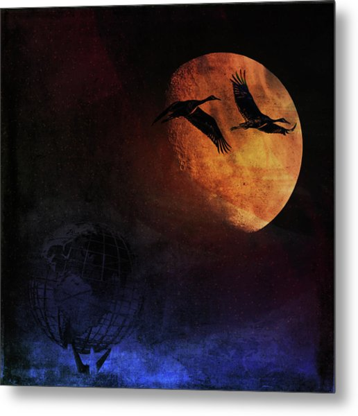 World's Fair Birds Metal Print