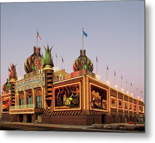 World's Only Corn Palace 2017-18 Metal Print