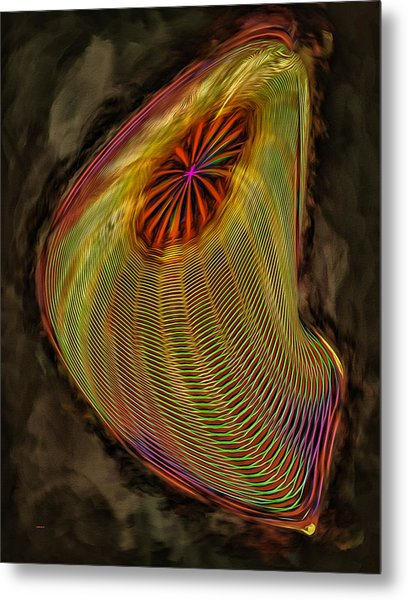Wormhole In Space Metal Print