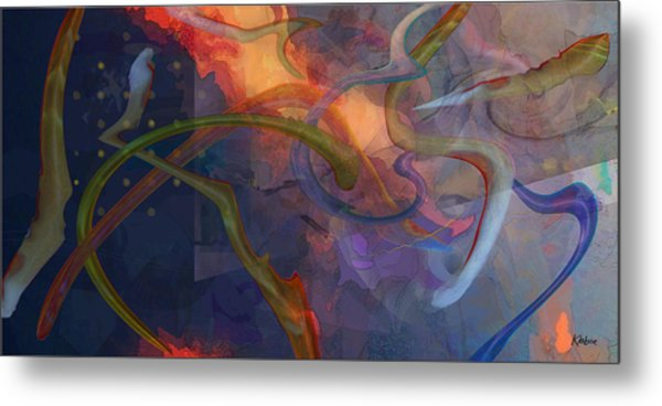 Wormholes Metal Print