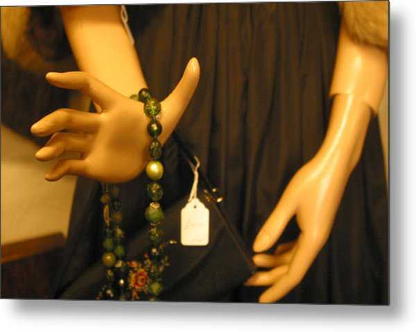 Worry Beads Metal Print by Jez C Self