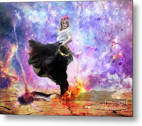 Worship Warrior Metal Print