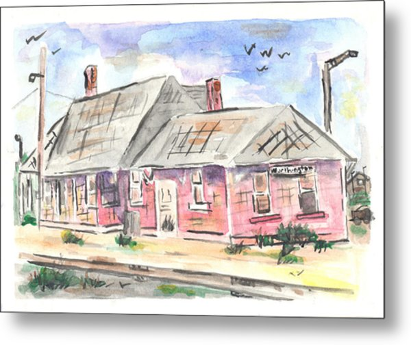 Worthington Depot Metal Print