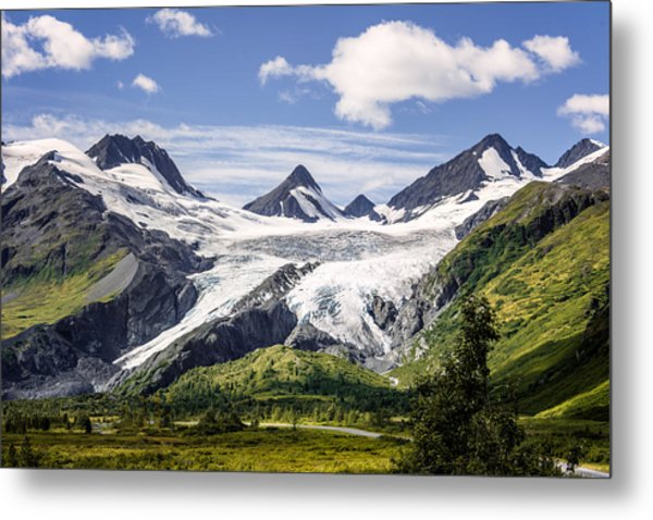 Worthington Glacier Metal Print