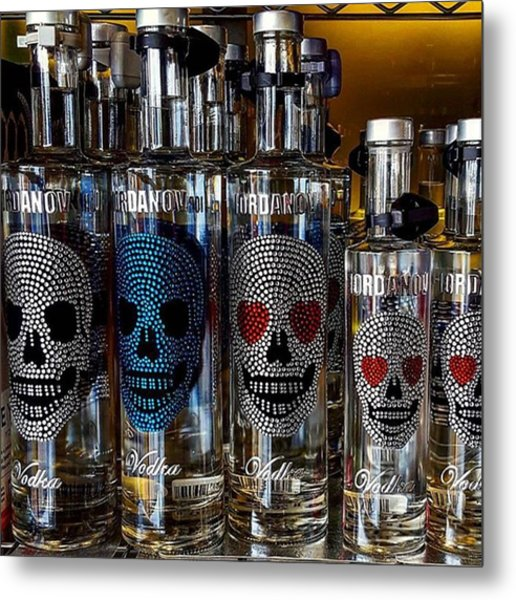 Would You Drink This #vodka? Also What Metal Print by Dante Harker