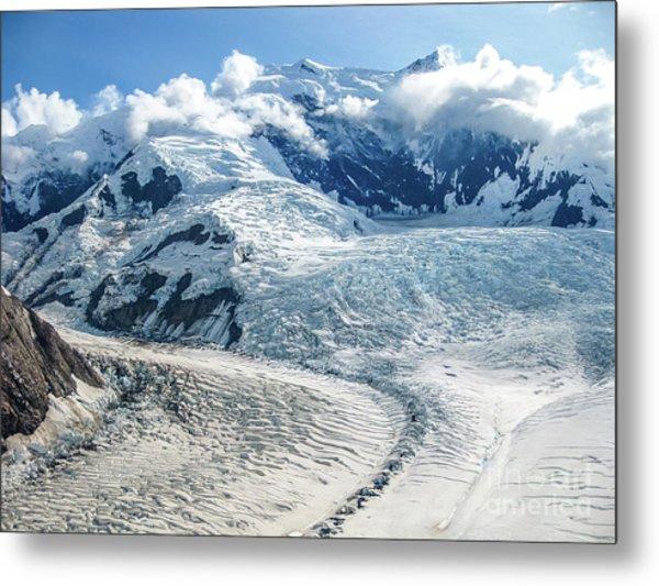 Wrangell Alaska Glacier Metal Print