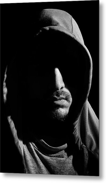 Wrapped In Shadows Metal Print