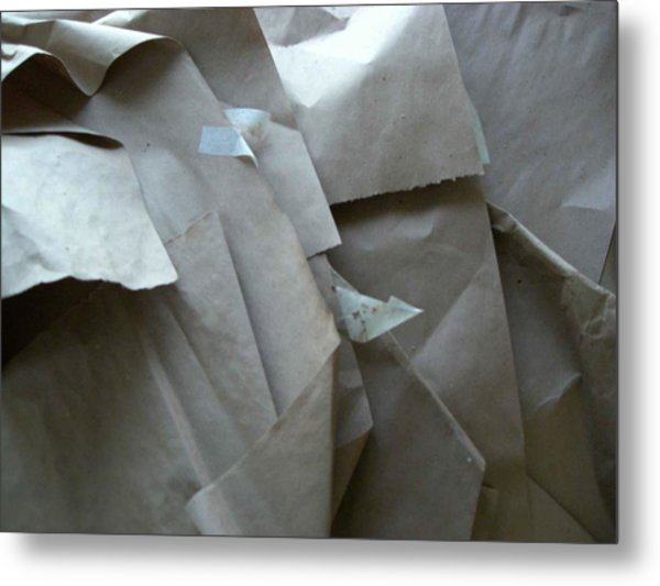 Wrappings Metal Print by Nancy Ferrier