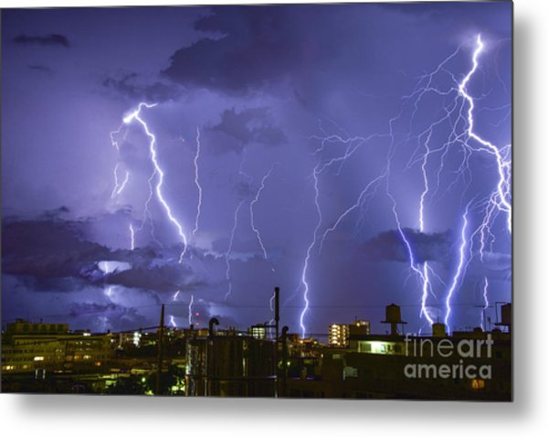 Wrath Of Gods Metal Print