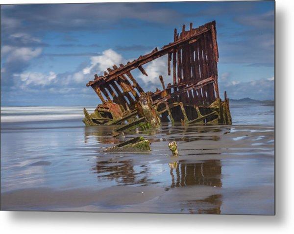 Wreck Of The Peter Iredale, #2 Fort Stevens, Oregon Metal Print