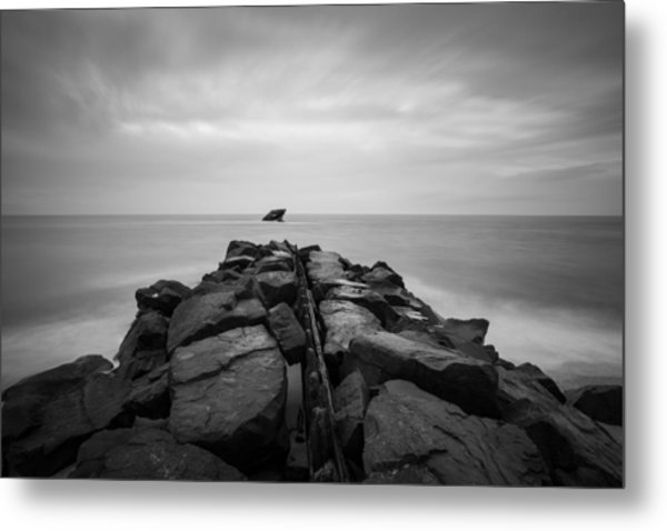 Wreck Of The Ss Atlansus Of Cape May Nj Metal Print