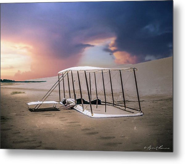 Wright Brothers Glider Metal Print by Brent Shavnore