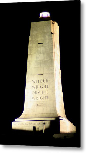 Wright Brothers' Memorial Metal Print