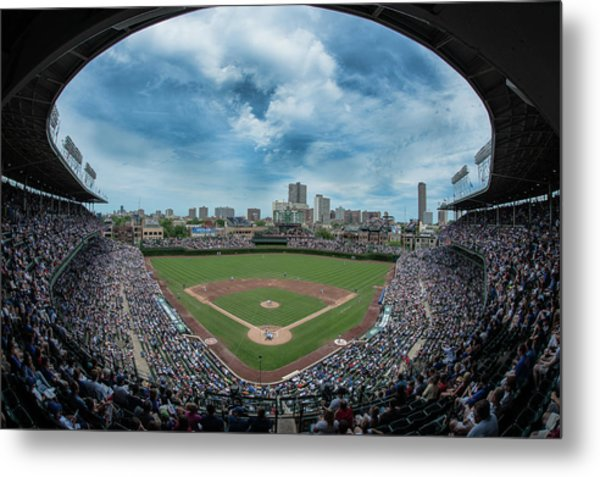Wrigley Color Metal Print