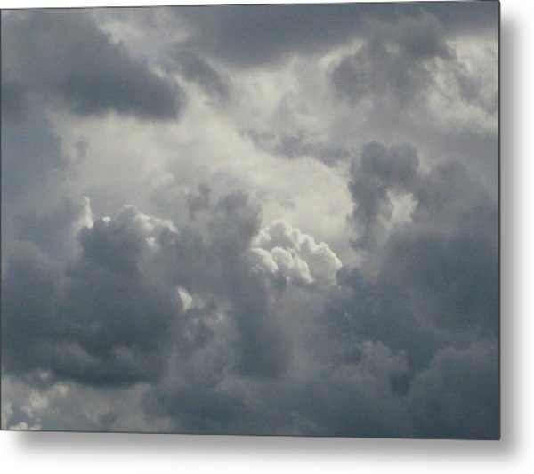 Written In The Sky Metal Print