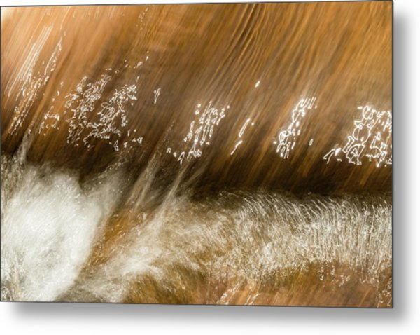 Metal Print featuring the photograph Written In Water by Deborah Hughes