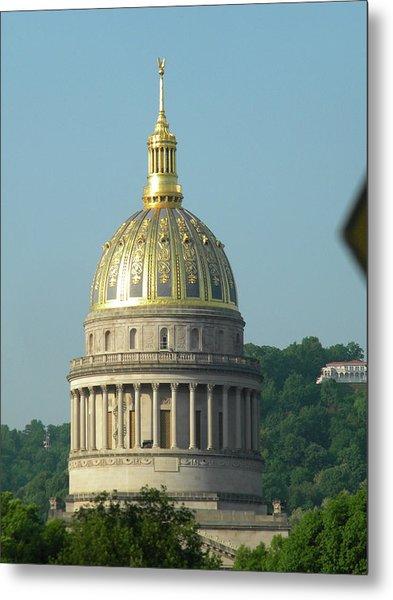 West Virginia State Capital Building  Metal Print