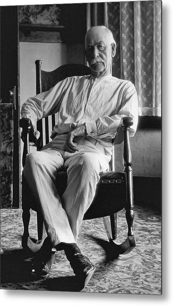 Wyatt Earp 1923 - Los Angeles Metal Print