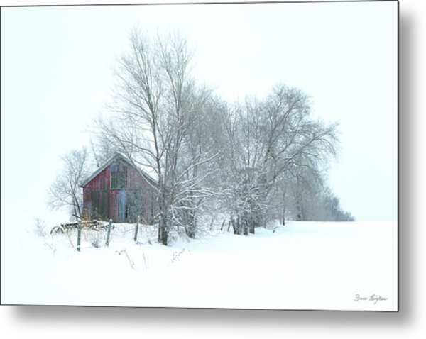 Wyeth Winter Metal Print