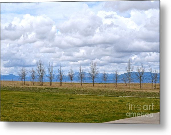 Wyoming-dwyer Junction Metal Print