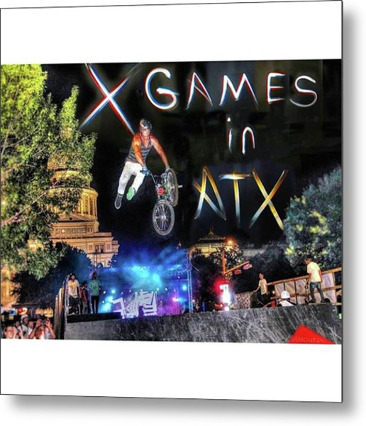 #xgames In #atx Again Soon! It Will Metal Print