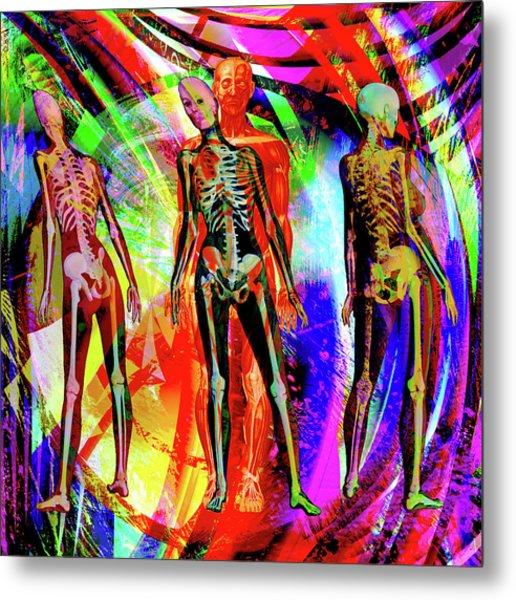 Bones Metal Print by Joseph Mosley