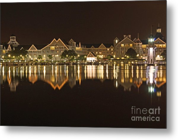 Yacht Club Villas - Walt Disney World Metal Print