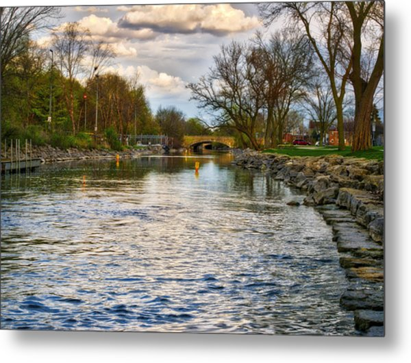 Yahara River, Madison, Wi Metal Print