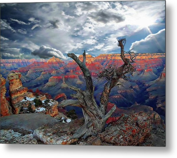 Yaki Point Grand Canyon Metal Print