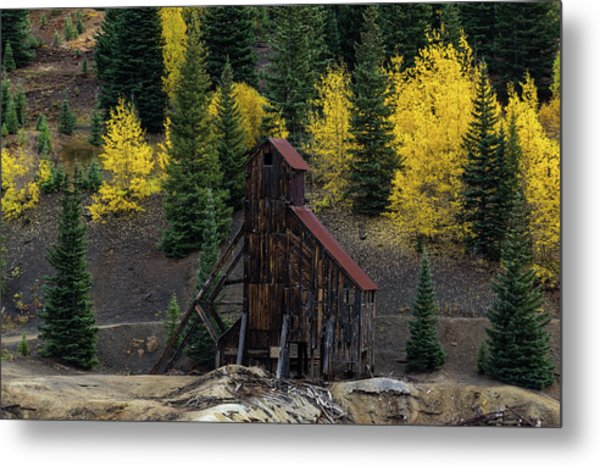 Yankee Girl Mine - 8764 Metal Print